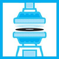 Vinyl Pressing icon