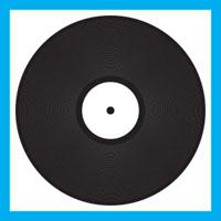 12 inch vinyl icon