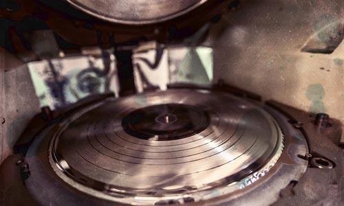 "Manual 12"" Vinyl Press"